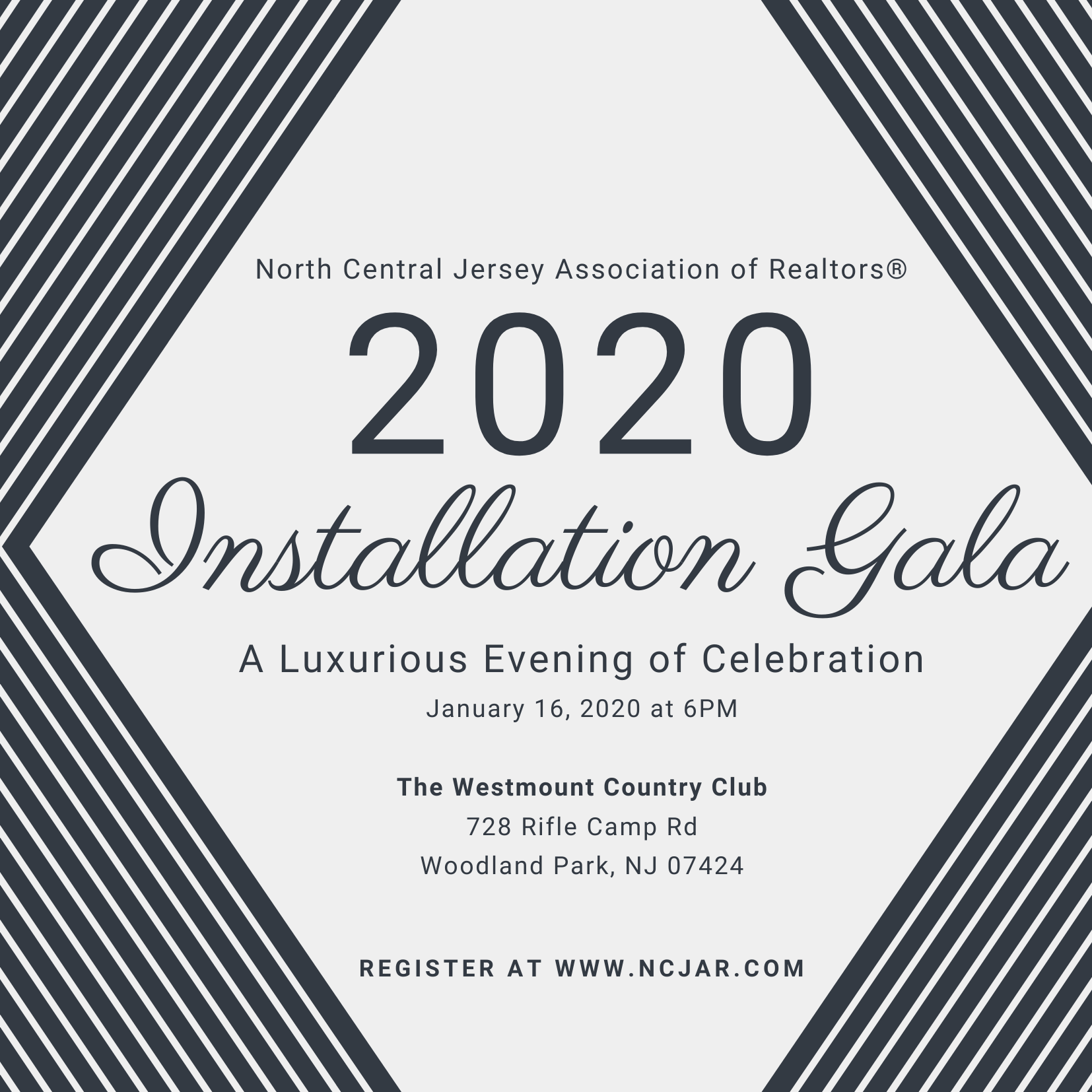 Join us for NCJAR's Installation Gala