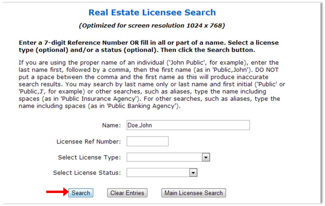 LicenseSearch2013