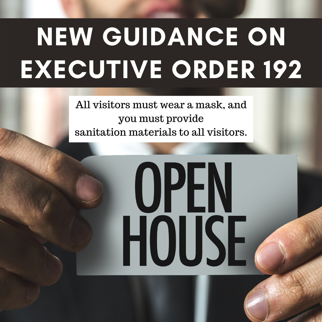 New Guidance on Executive Order 192