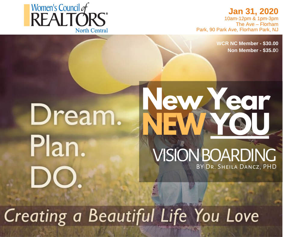 WCR New Year New You Vision Boarding